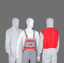 Kombinezony, ubrania robocze i obuwie bezpieczne