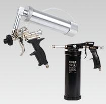 Pistolety natryskowe do mas i konserwacji