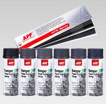 Zestaw aerozoli do napraw tworzyw sztucznych NTW Spray