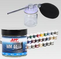 Zestaw do naprawy tapicerek welurowych i materiałowych NWM Standard