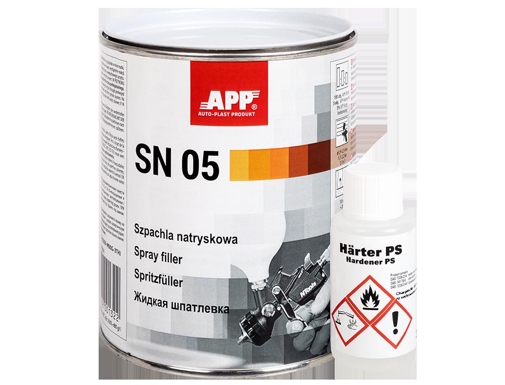 APP SN 05 Szpachla natryskowa