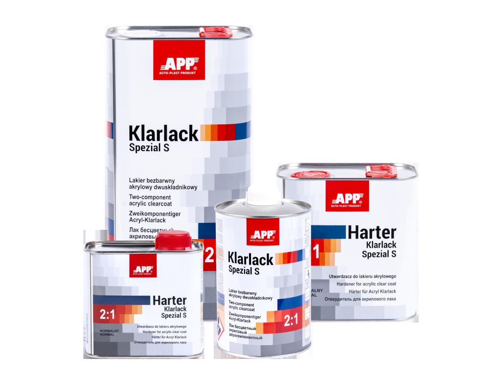 Qualitäts-Klarlack HS mit Härter 1,5L