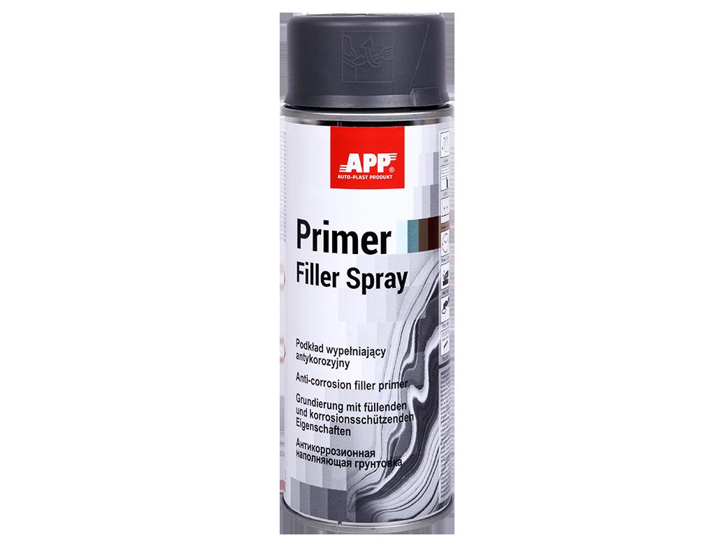 APP Primer Filler Spray Podkład wypełniający antykorozyjny