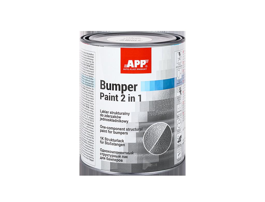 APP Bumper Paint Lakier strukturalny do zderzaków jednoskładnikowy