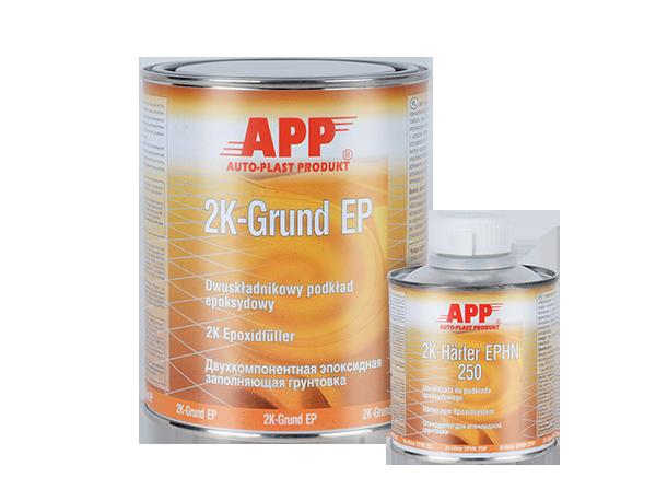 APP Grund EP 3:1 + Harter Podkład epoksydowy dwuskładnikowy + utwardzacz