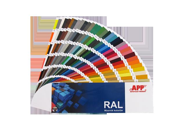 APP RAL BOX Wzornik kolorów