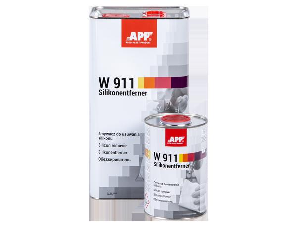 APP W 911 Zmywacz do usuwania silikonu wolny
