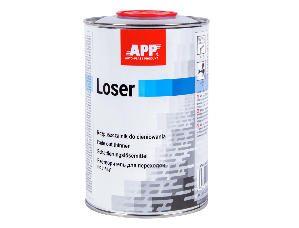 APP 2K Loser Rozpuszczalnik do cieniowania