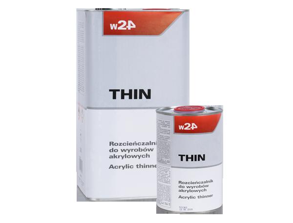 W24 THIN Rozcieńczalnik do wyrobów akrylowych THIN
