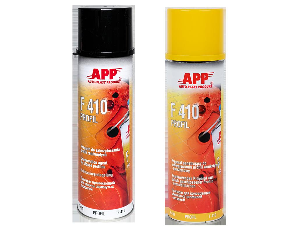 APP F410 Spray Preparat do zabezpieczania profili zamkniętych