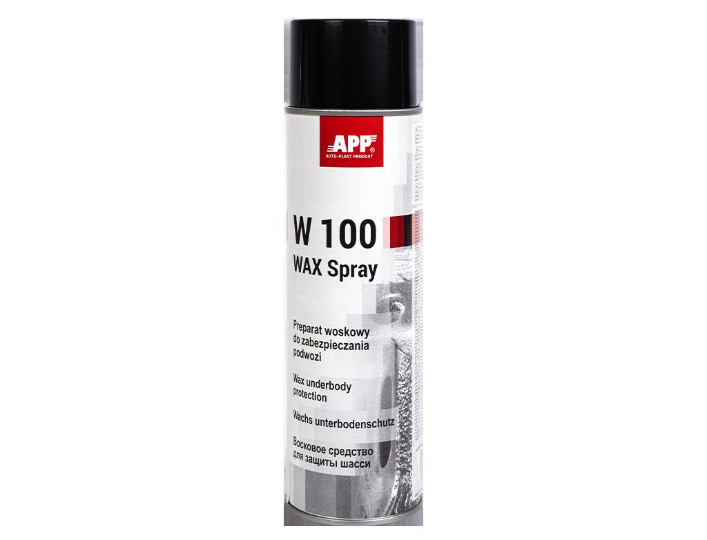 APP W100 WAX Spray Preparat woskowy do zabezpieczania podwozia