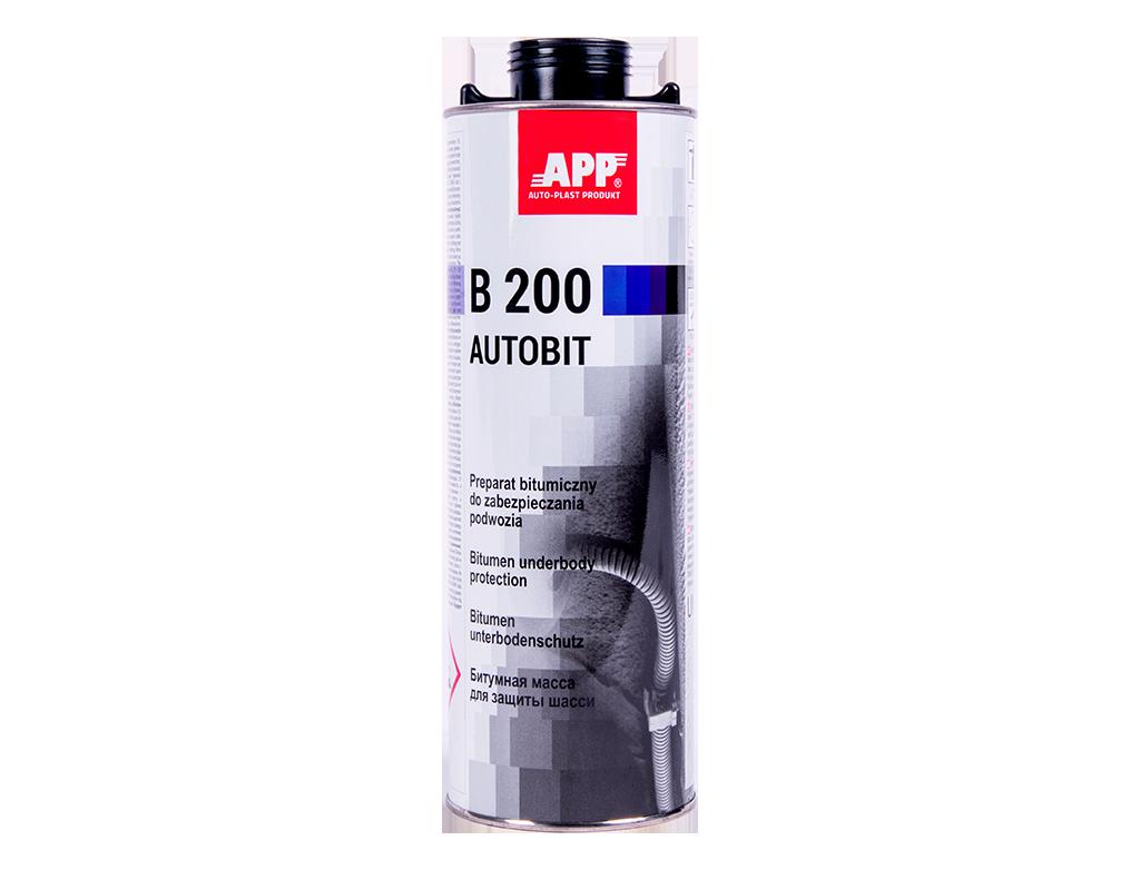 APP B 200 Autobit Preparat bitumiczny do zabezpieczania podwozia