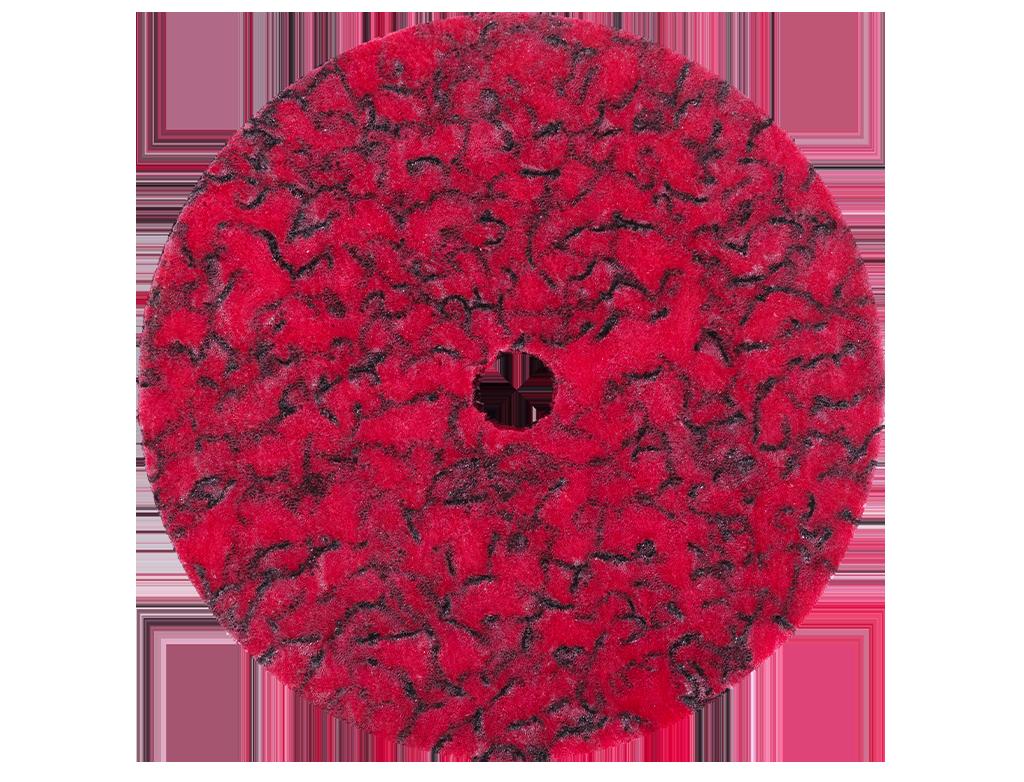 APP DS. R Dysk ścierny sprasowany czerwony na trzpień mocujący
