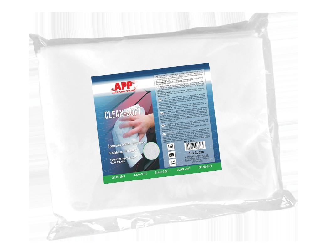 APP Clean Soft Ściereczki polerskie bezpyłowe
