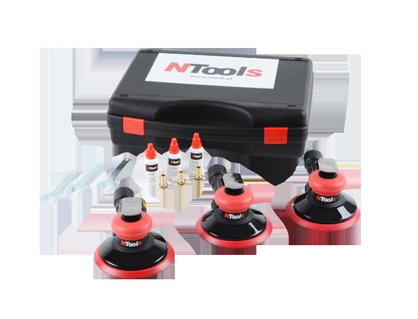 NTools RS 150  Zestaw szlifierek + walizka