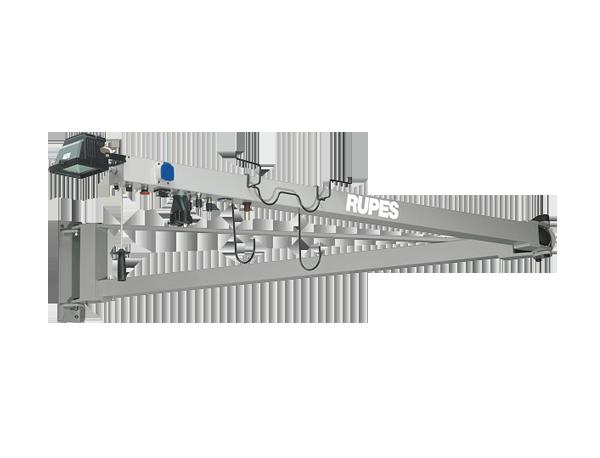 Rupes HF 6000 Wielofunkcyjne ramię uchylne z oświetleniem z pneumatycznym automatem włączeniowym
