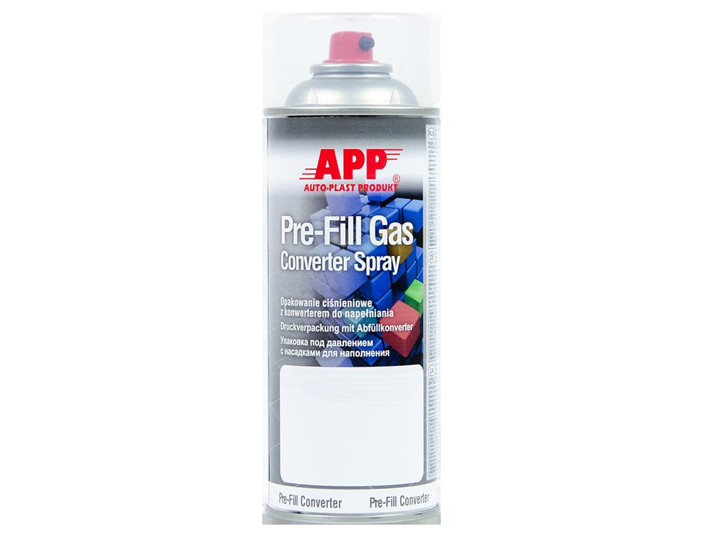 APP Pre Fill Gas Converter  Opakowanie ciśnieniowe do napełniania z konwerterem