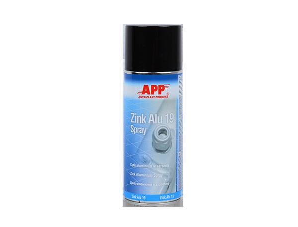 APP Zink Alu 19 Spray Preparat cynkowo-aluminiowy do profesjonalnej ochrony antykorozyjnej