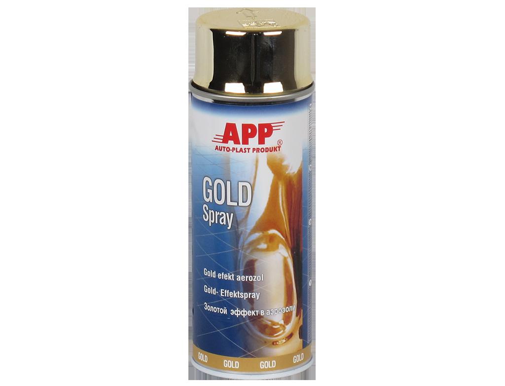 APP Gold Spray Lakier z efektem specjalnym