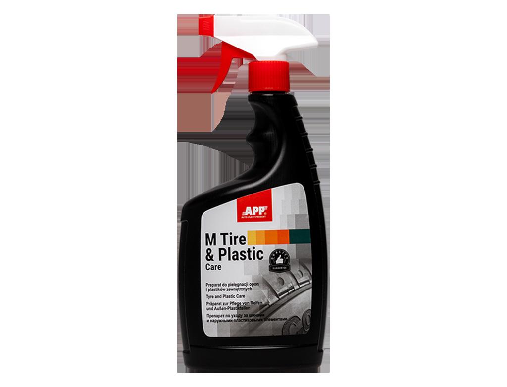 APP M TIRE & PLASTIC Care Preparat do pielęgnacji opon i plastików zewnętrznych