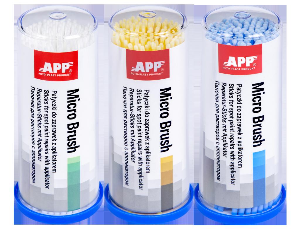 APP Micro Brush Patyczki do zaprawek z aplikatorem