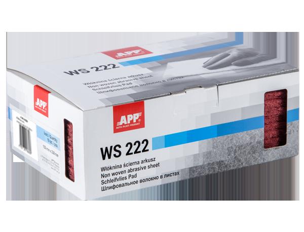 APP WS 222 Włóknina ścierna arkusz