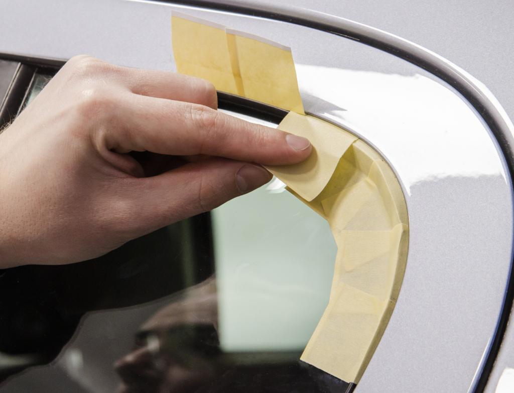 APP TOM 2 Masking-Deflecting tape with split film 9/11 mm