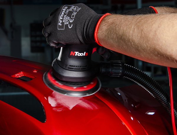 NTools SWR 03E  Szlifierka elektryczna wibracyjno-rotacyjna