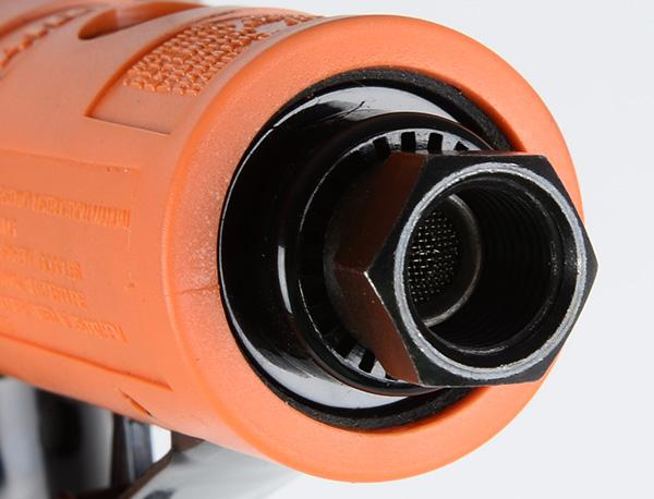 NTS SA 4113P Pneumatyczna szlifierka mimośrodowa, kątowa z tarczą 50mm