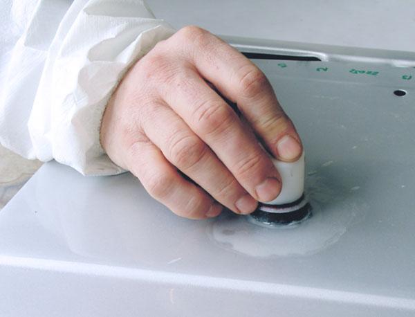 APP KG MX Korek gumowy do ręcznego szlifowania wtrąceń (klej)