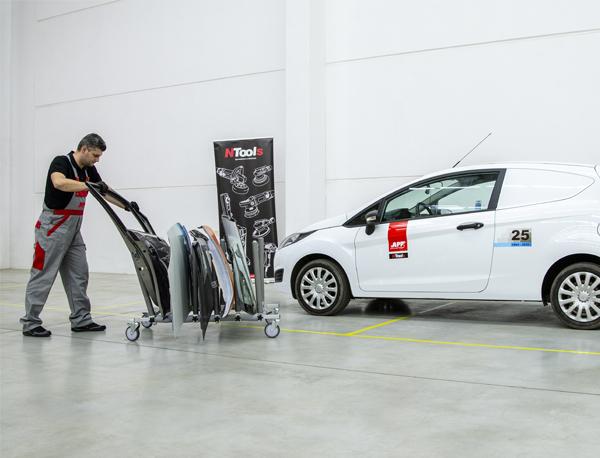 NTools PANEL CART Wózek do składowania paneli samochodowych