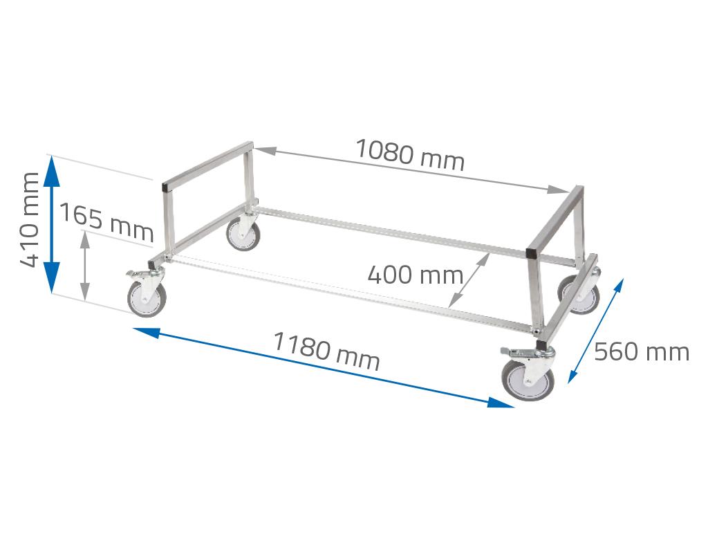 NTools Tire Stand Mini Mobilny stojak do składowania opon