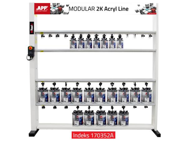 NTools Modular Mixing Machine Urządzenie mieszające z mieszadłami