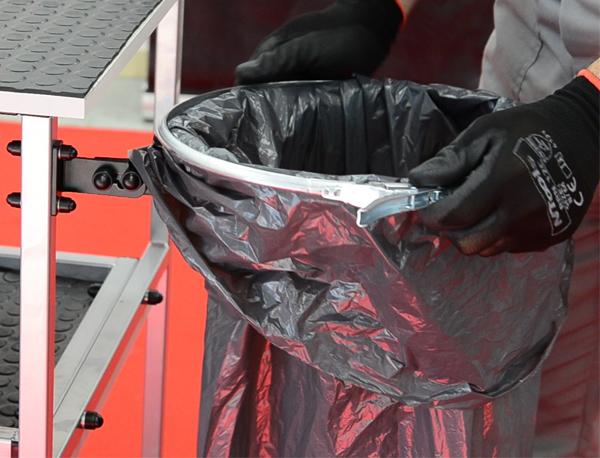 NTools OW290 Obręcz worka na odpady z zamknięciem dźwigniowym