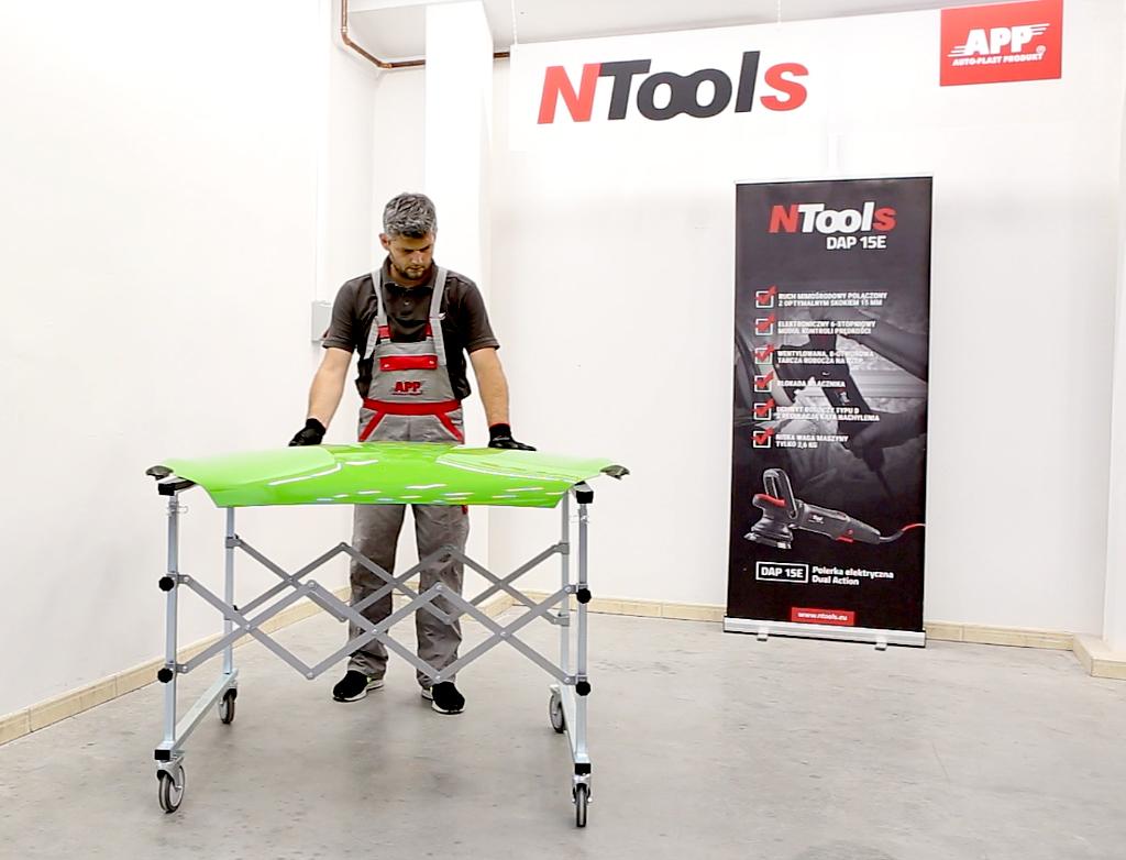 NTools MS Mobilny stojak do elementów