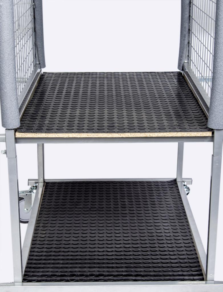 NTools CE Trolley Mat Komplet wykładzin do wózka pomocniczego do elementów karoserii, 850mm x 540mm, 2szt