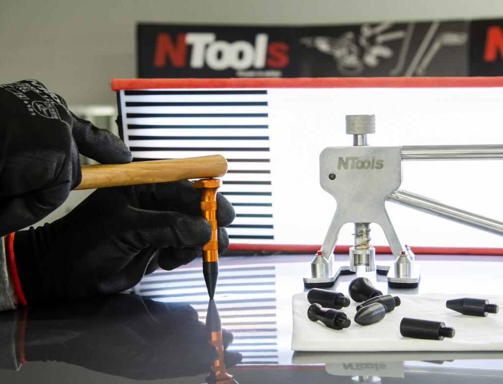 NTools PA9 Aлюминиевый молоток со сменными наконечниками