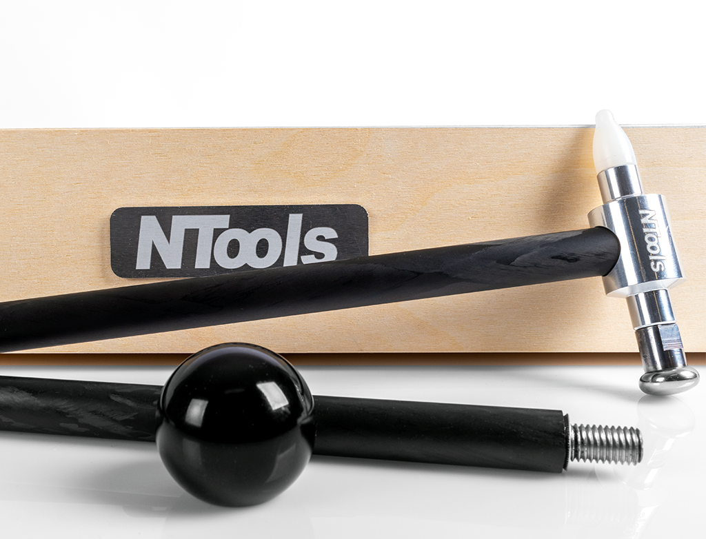 NTools PDR Carbon Hammer Blending hammer with tips