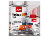 APP 2K HS Klarlack Smart 4:1 + Harter Lakier bezbarwny akrylowy dwuskładnikowy szybkoschnący + utwardzacz