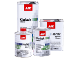 APP Klarlack Glosser 2:1 Lakier bezbarwny akrylowy dwuskładnikowy + utwardzacz