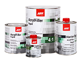 APP 2K HS Rapid Acrylfiller 4:1+ Harter