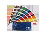 APP RAL Fan Deck Wzornik kolorów