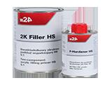 W24 2K Filler HS 5:1 + Harter Podkład akrylowy dwuskładnikowy wypełniający + utwardzacz