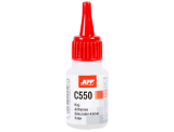 APP C550 Cyano-acrylic adhesive for rubber and plastic