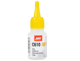 APP C610 Cyano-acrylic adhesive for rubber and plastic and metal