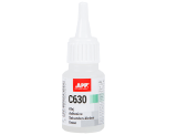 APP C630 Cyano-acrylic adhesive for rubber and plastic and EPDM