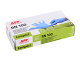 APP RN 100 COMPACT Nitrile disposable gloves 2 mils