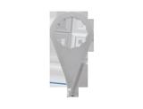 APP ODS 12 Ostrze haczykowate do piły do wycinania szyb 24mm