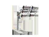 NTools FDS 6600 Promiennik 6x1,1kW z wyłącznikiem czasowym i regulacją mocy na wysięgniku teleskopowym