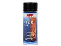 APP L 650°C Black Spray Lakier żaroodporny